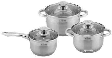Набор посуды Maxmark 6 предметов (MK-3506D) от Rozetka