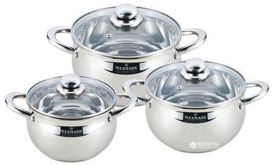 Набор посуды Maxmark 6 предметов (MK-APP7506B) от Rozetka