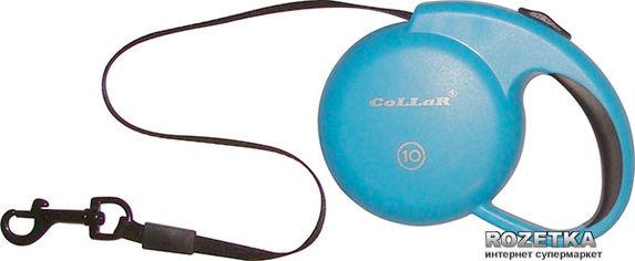 Поводок-рулетка Collar Control XS для собак до 10кг, 3 м Синий (81202) от Rozetka