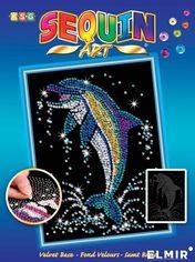 Набор для творчества Sequin Art Blue Dolphin 25х34 см (SA1516) от Rozetka