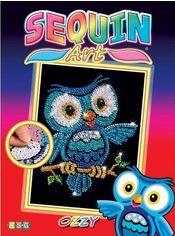 Акция на Набор для творчества Sequin Art Red Ozzy Owl 25х34 см (SA1403) от Rozetka