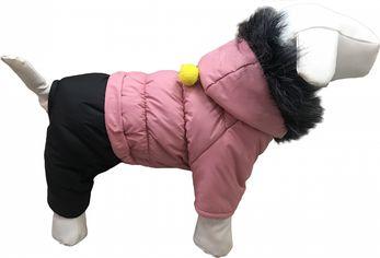Зимний комбинезон для собак Dogs Bomba 7 бубон опушка розовый A-59/6 от Rozetka