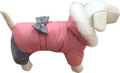 Зимний комбинезон для собак Dogs Bomba 4 для девочи пудровый AD-5/4 от Rozetka