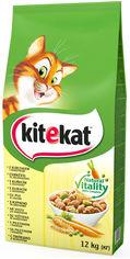 Сухой корм для котов Kitekat Курочка с овощами 12 кг (5900951013072) от Y.UA