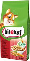 Сухой корм для котов Kitekat Говядина с овощами 12 кг (5900951013065) от Stylus