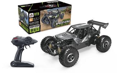 Автомобиль Sulong Toys Off-road Crawler на р/у – Speed King (черный металлик, метал. корпус, аккум. 6V, 1:14) от Y.UA