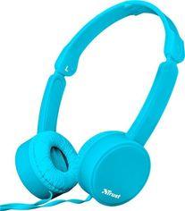 Акция на Наушники Trust Nano On-Ear Mic Blue от MOYO