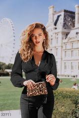 Акция на Шовкова стильна блуза от Gepur