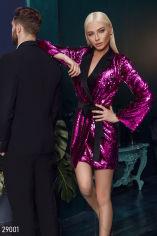 Акция на Сукня-піджак з паєтками от Gepur