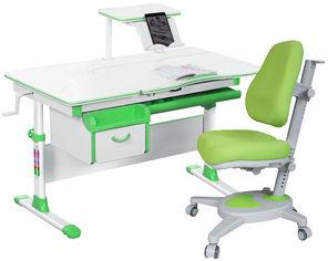 Акция на Комплект Evo-kids Evo-40 Z + кресло Y-110 KZ Зеленый (Evo-40 Z + Y-110 KZ) от Rozetka