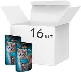 Упаковка влажного корма для котят Leonardo Китен домашняя птица 85 г 16 шт (4002633101884) от Rozetka