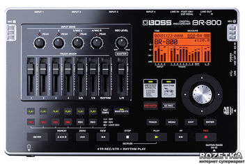 Цифровой рекордер Boss BR-800 (BR800) от Rozetka