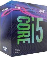 Процессор Intel Core i5-9400F 2.9GHz/8GT/s/9MB (BX80684I59400F) s1151 BOX от Rozetka
