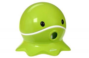 Акция на Детский горшок Qcbaby Осьминог зеленый (QC9906green) от Stylus