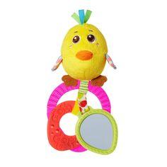 """Игрушка-погремушка """"Цыпленок Пино"""" от Chicco"""