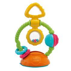 Игрушка-погремушка на присоске Touch & Spin от Chicco