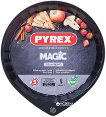 Форма круглая для выпечки пироговPyrex Magic30 см Круглая Черная (MG30BN6) от Rozetka