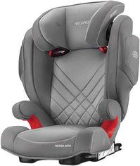 Акция на Автокресло RECARO Monza Nova 2 Seatfix Aluminium Grey (88010180050) от Rozetka