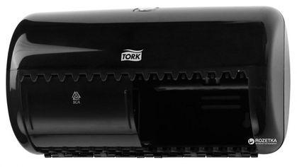 Диспенсер для туалетной бумаги TORK Twin 557008 Черный от Rozetka