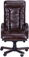 Кресло AMF Кинг Люкс Темно-коричневое (039005) от Rozetka