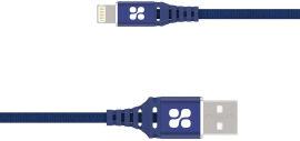 Кабель Promate NerveLink-I USB - Lightning 1.2 м Blue (nervelink-i.blue) от Rozetka