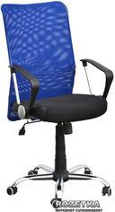 Кресло AMF АЭРО HB Сетка Неаполь N-20 Черно-синее (023231) от Rozetka