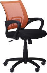 Кресло AMF Веб Черно-оранжевое (117026) от Rozetka