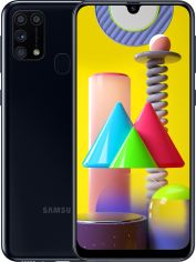 Акция на Смартфон SAMSUNG Galaxy M31 6/128GB Black (SM-M315FZKU) от Eldorado