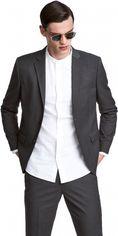 Пиджак H&M 24VJJ25 56 Темно-серый (3000000764671) от Rozetka