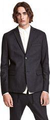 Пиджак H&M 03WMM25 44 Темно-серый (7000000007040) от Rozetka