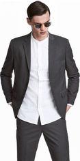 Пиджак H&M 0241602 60 Темно-серый (9999965892898) от Rozetka
