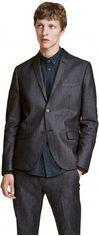 Пиджак H&M 04VHW95 46 Темно-серый (3000000571200) от Rozetka