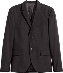 Пиджак H&M 02VTE90A 44 Черный (3000000320730) от Rozetka