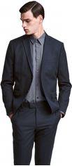 Пиджак H&M 02VTF02 42 Темно-синий (7000000003769) от Rozetka