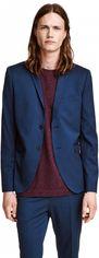 Пиджак H&M 03WML83 50 Синий (3000000130667) от Rozetka