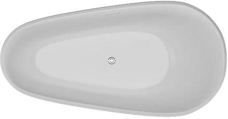 Ванна акриловая POLIMAT Shila 170х85 + ножки + панель + сифон от Rozetka