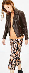 Кожаная куртка Oasis Leather Premium Quilted Biker 070890-12 S (5054413874449) от Rozetka