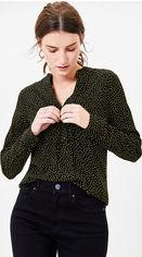 Блузка Oasis Lime Spot Shirt 071724-58 XXS (5054413938936) от Rozetka