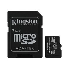 Карта памяти Kingston microSDHC 16GB Class 10 UHS-I R100MB/s + SD-адаптер от MOYO