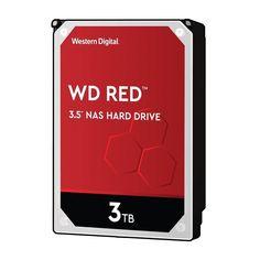 """Жесткий диск внутренний WD 3.5"""" SATA 3.0 3TB 5400 256MB Red NAS от MOYO"""