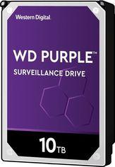 """Жесткий диск внутренний WD 3.5"""" SATA 3.0 10TB 7200 256MB Purple Surveillance от MOYO"""