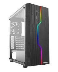 Корпус Antec NX230 Gaming без БП 2xUSB2.0 1 x USB3.0 боковая панель (акрил) 1х120 мм Black от MOYO