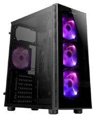 Корпус Antec NX210 Gaming без БП 2xUSB2.0 1 x USB3.0 закаленное стекло 4х120мм ARGB Black от MOYO