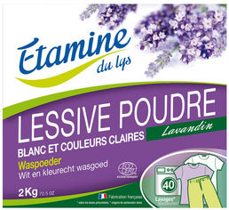 Стиральный порошок Etamine du Lys Лаванда 2 кг (3538394911505) от Rozetka