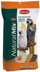 Повседневный корм Padovan NaturalMix Pappagalli для крупных попугаев 18 кг (PP00006) от Rozetka