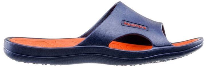 Шлепанцы AquaWave Nahin 44 Navy/Orange (5902786155798) от Rozetka