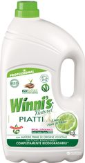 Гипоалергенное концентрированное средство для мытья посуды с ароматом лайма Winni's Piatti Lime 5 л (8002295062529) от Rozetka