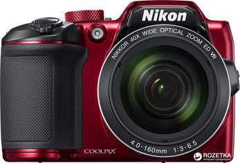 Фотоаппарат Nikon Coolpix B500 Red (VNA953E1) Официальная гарантия! от Rozetka