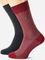 Акция на Набор носков Tommy Hilfiger Socks BirdEye 2-Pack Men 482004001-077 43-46 2 пары (8718824568119) от Rozetka