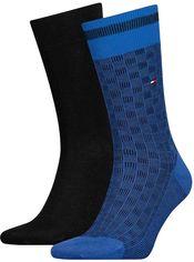 Набор носков Tommy Hilfiger Socks Basket Knit 2-Pack Men 482017001-322 43-46 2 пары (8718824568690) от Rozetka